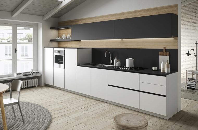 Cocinas minimalistas de snaidero funcionalidad y estilo - Cocinas modernas minimalistas ...