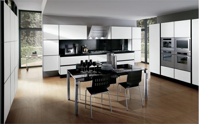 cocina moderna muebles blancos modernos