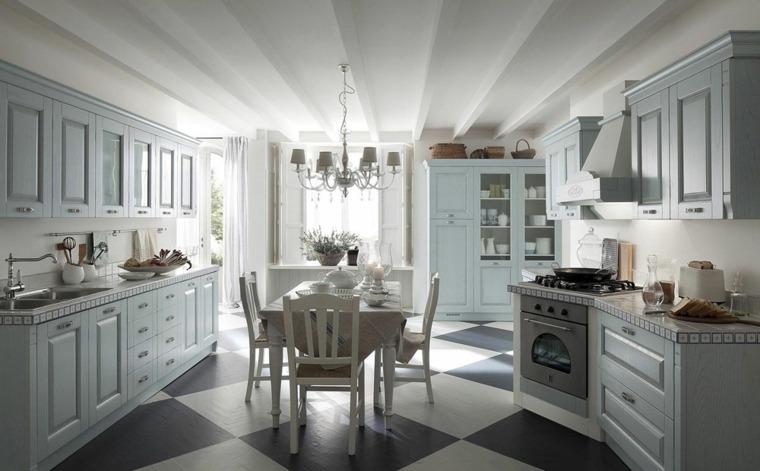 cocinas vintage amplia lugar comidas muebles madera ideas