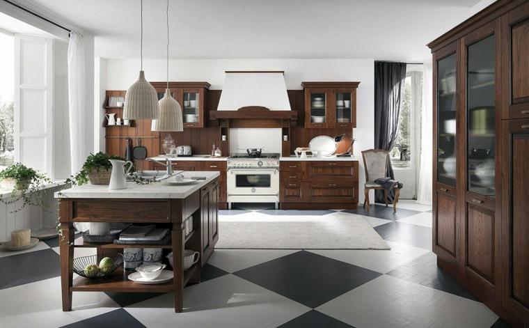 Cocinas vintage 26 dise os con un encanto retro atemporal - Muebles de cocina estilo retro ...