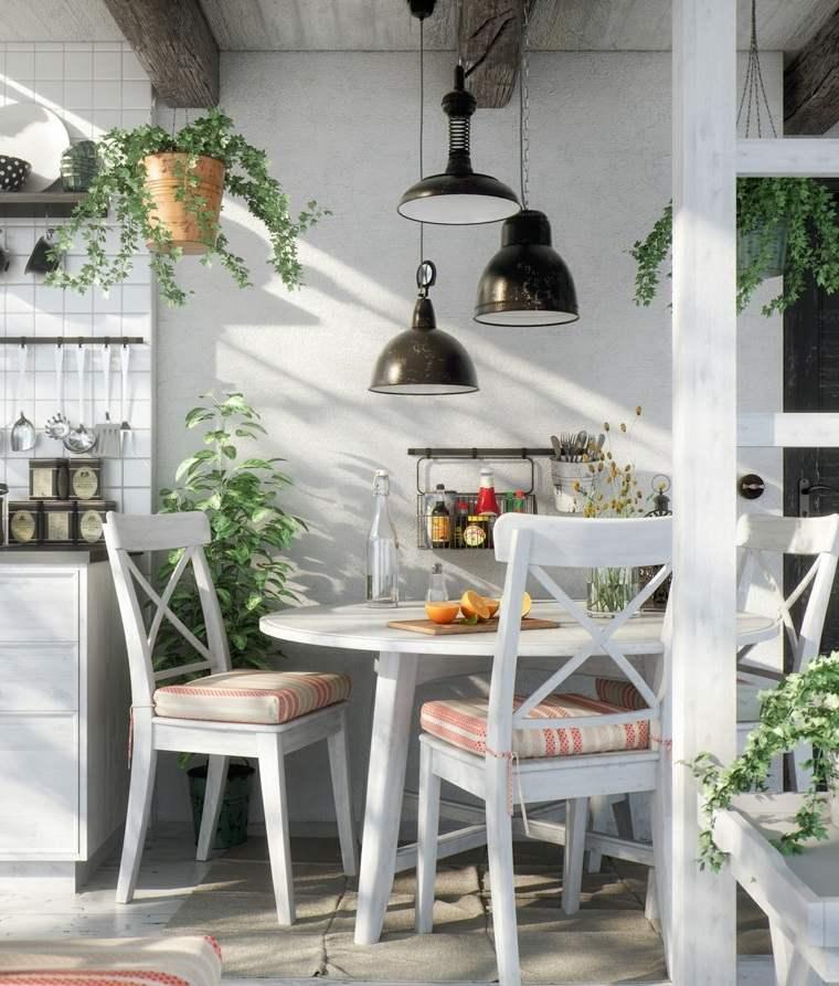 Cocinas vintage 26 dise os con un encanto retro atemporal for Muebles de comedor vintage