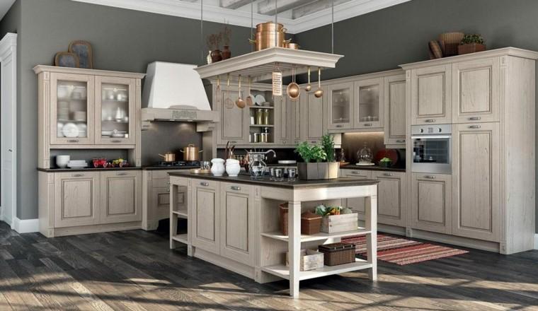 cocinas vintage muebles ideas diseños