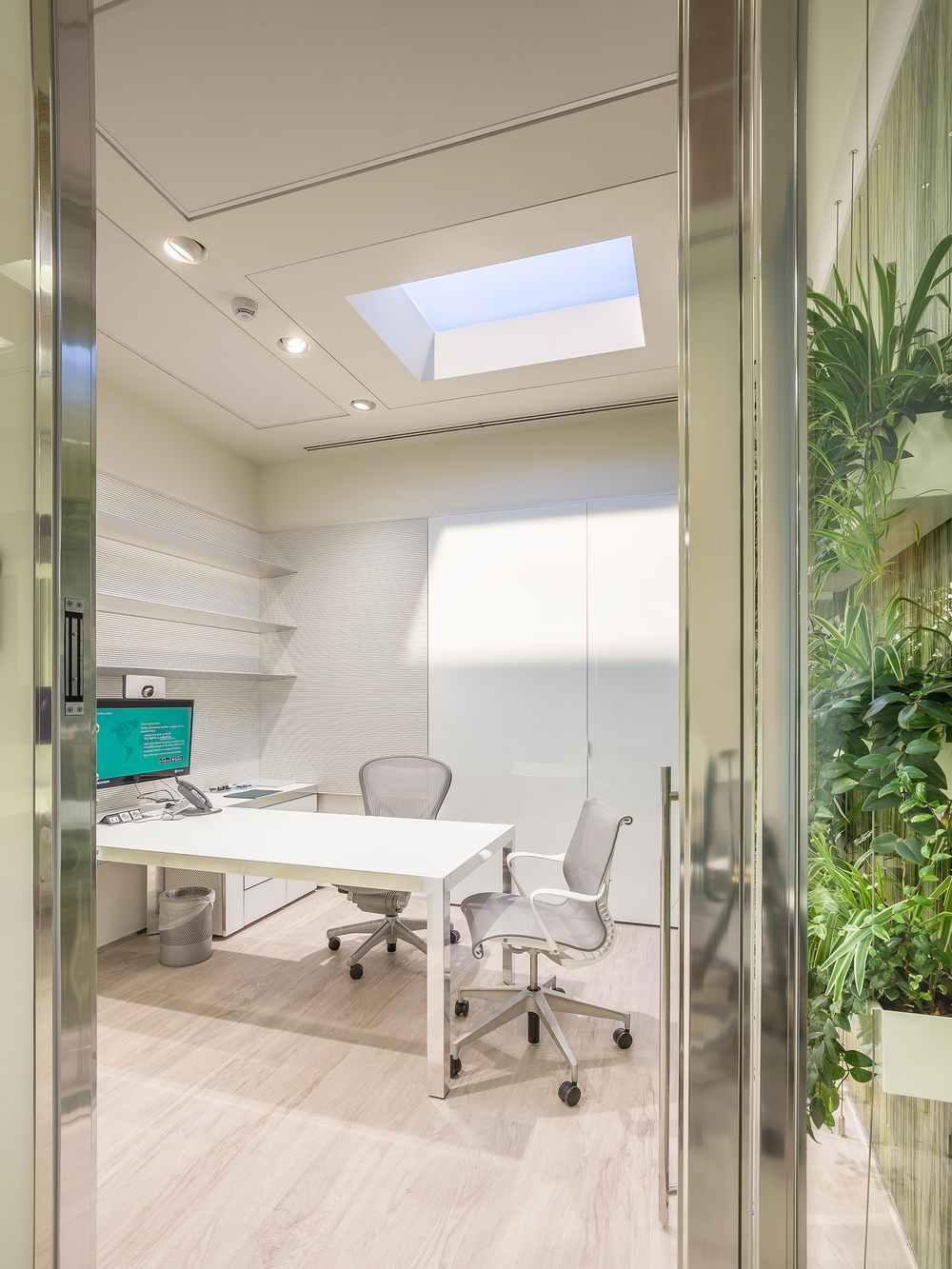 coelux oficina estilo moderno