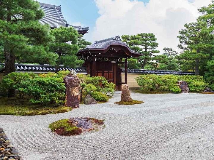 jardin zen meditacion espacios estilos casas puentes