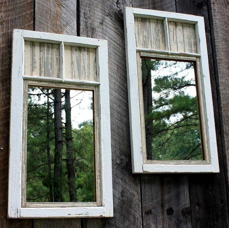 como hacer manualidades espejos decorativos ideas