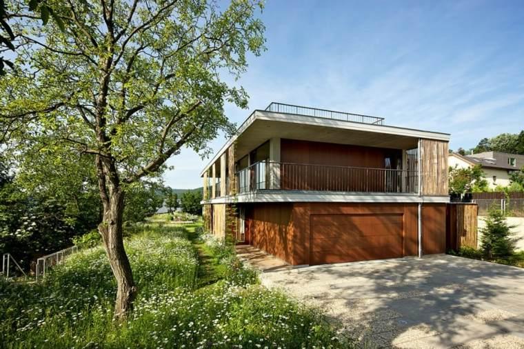 como hacer un jardin bonito campestre Atelier Stepan moderno