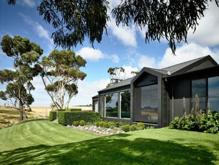 como hacer un jardin bonito colina casa diseno Canny Architecture ideas