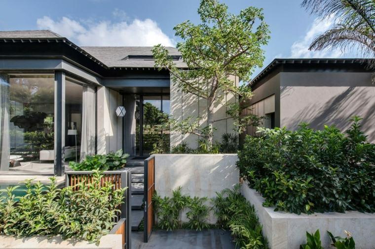 como hacer un jardin bonito delantero Eran Binderman & Rama Dotan ideas