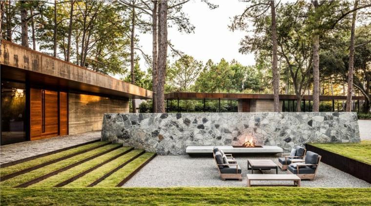 como hacer un jardin bonito lugar fuego Wernerfield Designs ideas