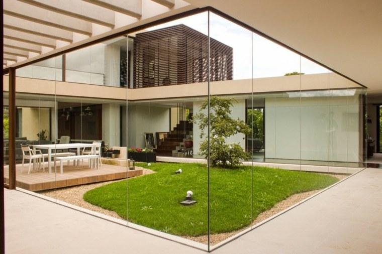 como hacer un jardin bonito medio casa diseno arquitectura en estudio ideas