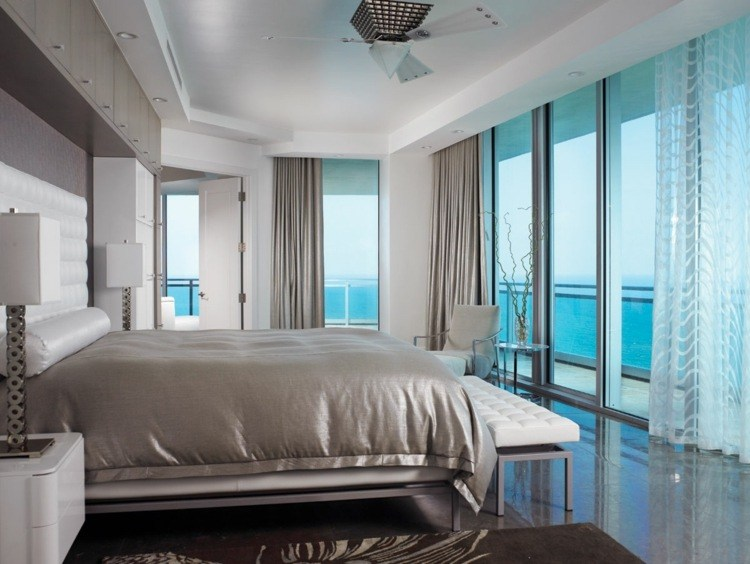 Cortinas para dormitorios   veinticuatro diseños de moda