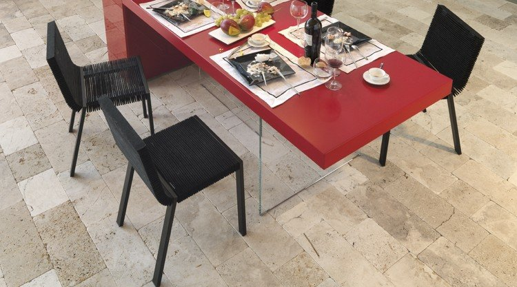conjunto sillas modernas steps negras