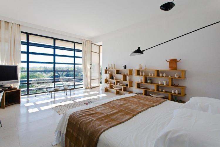 cortinas habitacion moderna amplia grande