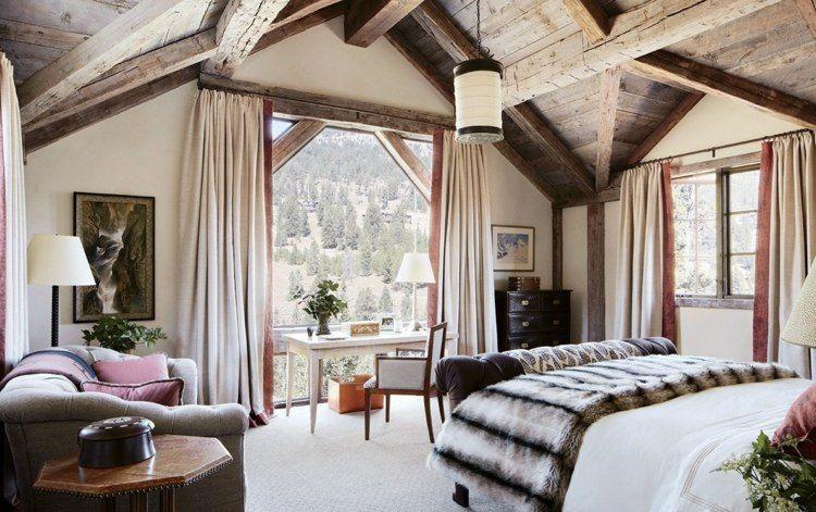 Cortinas para dormitorios veinticuatro dise os de moda - Modelos de cortinas para habitaciones ...