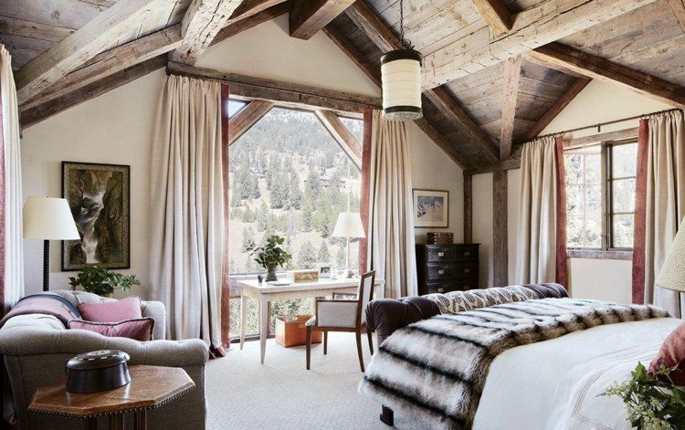 Cortinas para dormitorios veinticuatro dise os de moda for Cortinas dobles para dormitorios