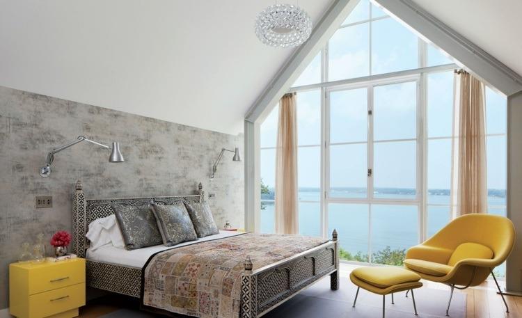 cortinas transparentes color beidge modernas