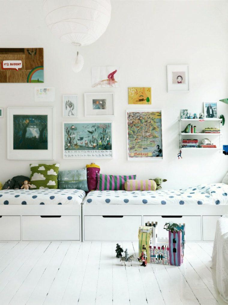 cuarto infantil moderno estilo escandinavo