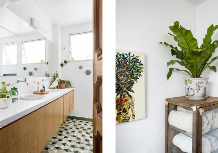 cuarto baño principal azulejos modernos