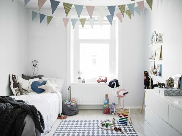 diseños cuartos infantiles juveniles modernos