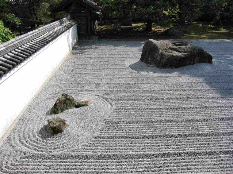 decorar jardines japoneses rocas