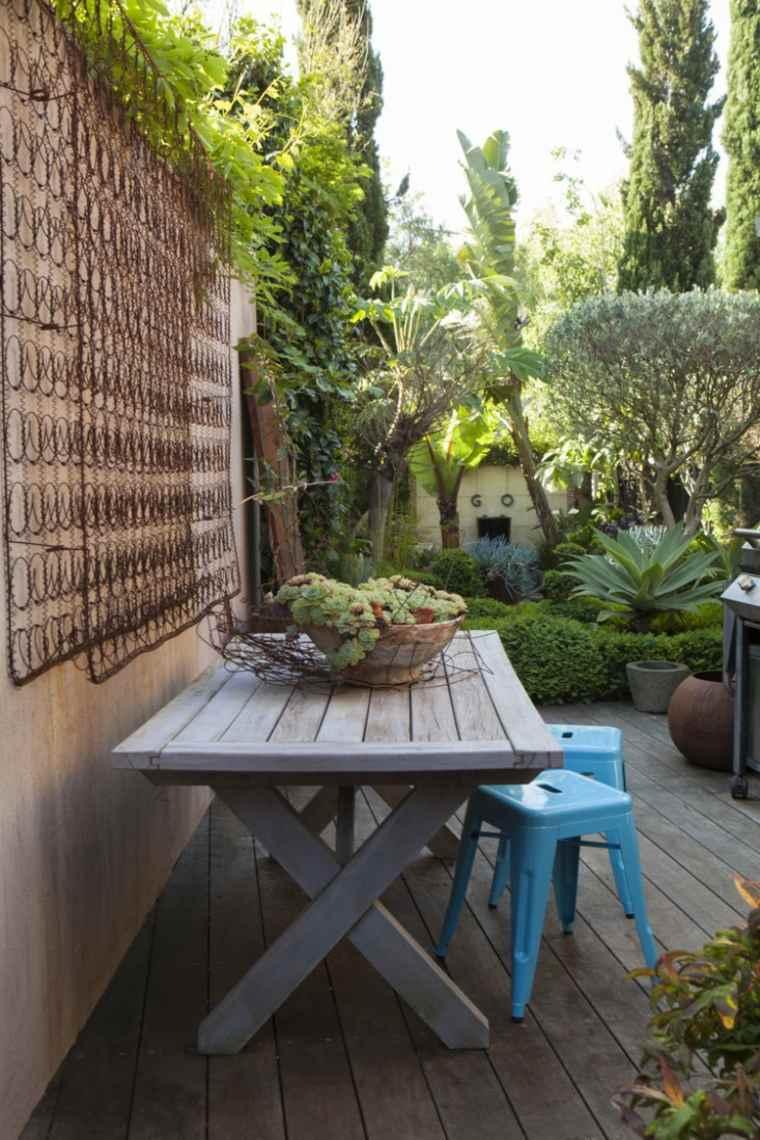 Fachadas y muros exteriores ideas de dise o y decoraci n - Ideas originales jardin ...