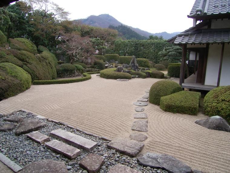 decorar estupendo jardin zen
