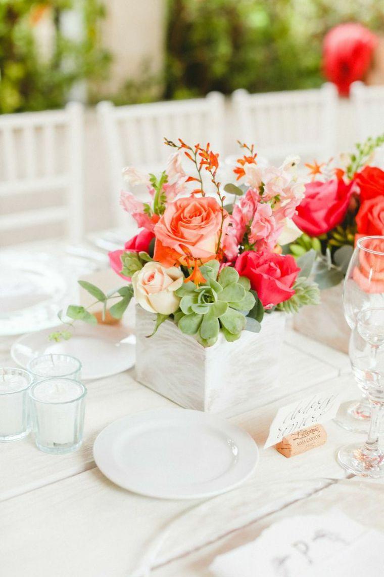 decoracion para bodas mesa centro