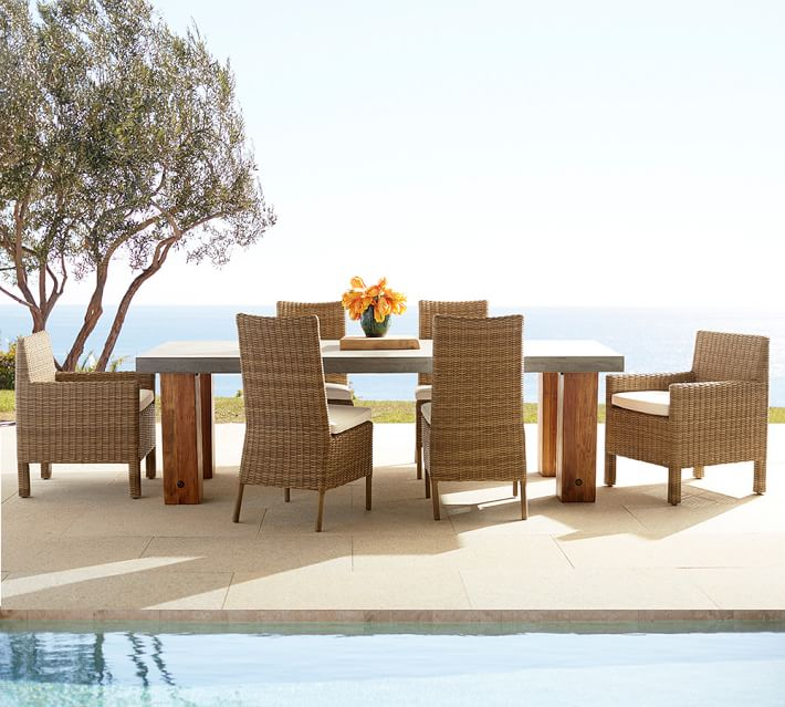 Decoracion terrazas 24 opciones de muebles de rattan for Muebles de terraza madera