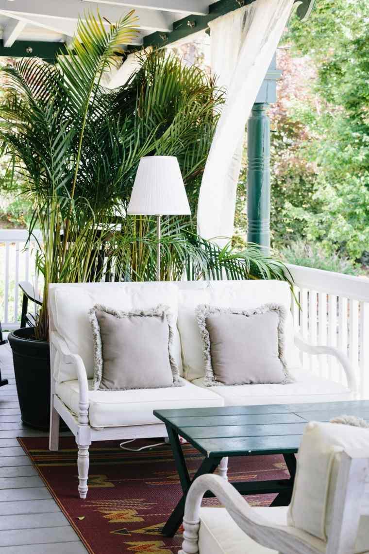 decoracion terrazas plantas muebles diseno clasico ideas
