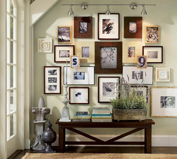 decorar con fotos alfombras maderas plantas