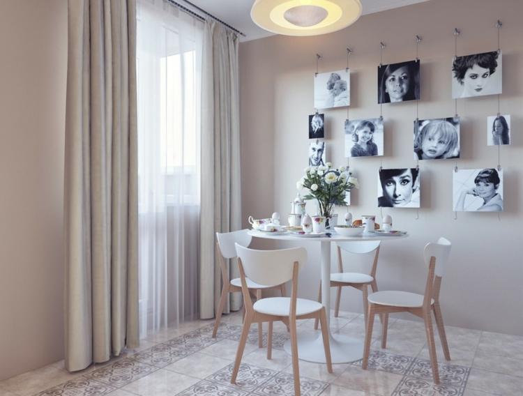 decorar con fotos calidos momentos sillas