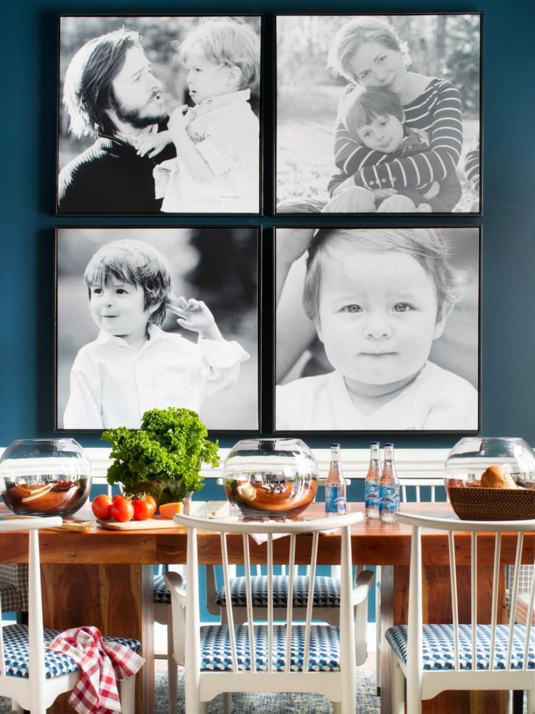 decorar con fotos comedores decoracion grandes