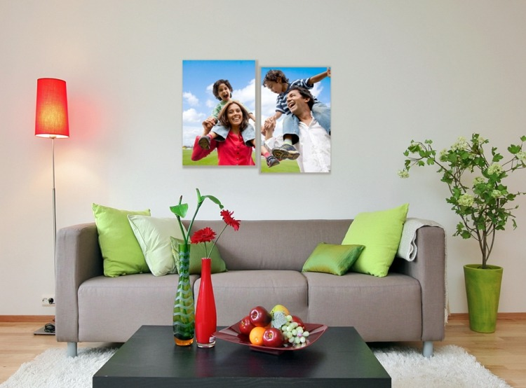 decorar con fotos lamparas solares colores flores