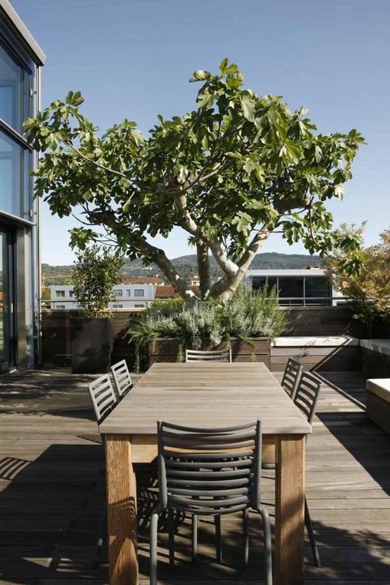decorar terraza moderna comedor aire libre ideas