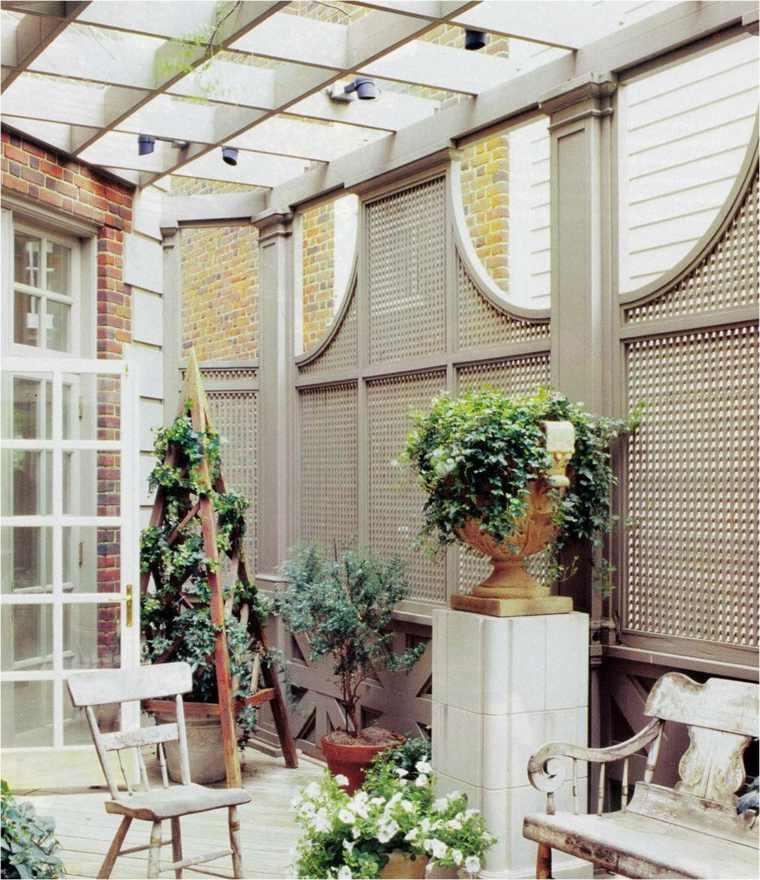 decorar terraza pequena diseno vintage aire libre ideas