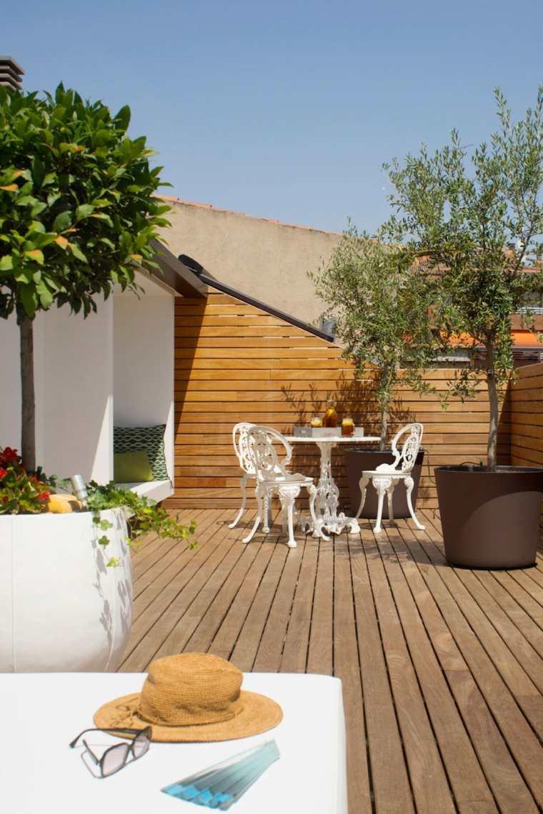decorar terraza pequena muebles estilo victoriano ideas
