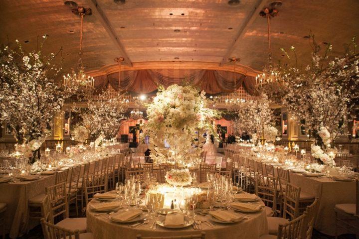 detalles para bodas primaverales espacios cerrados decoracion ideas