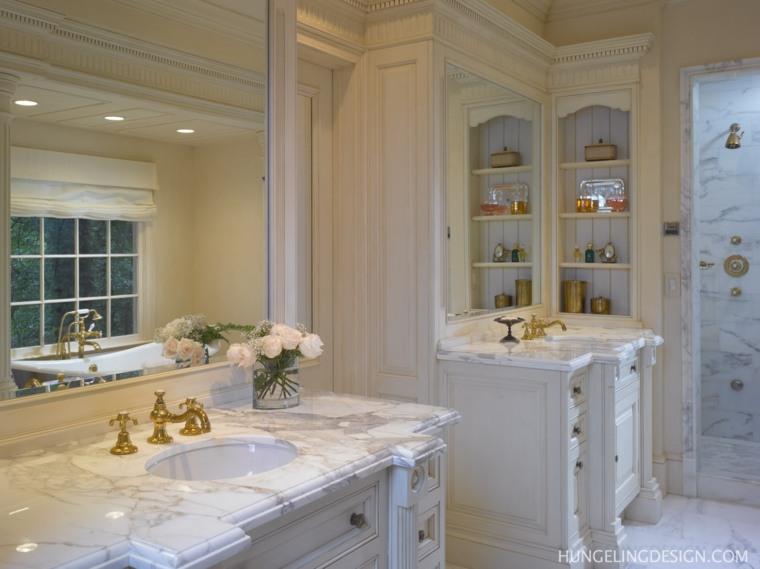 Baño vintage diseño Hungel