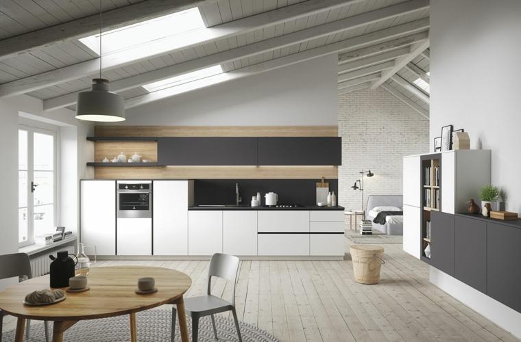 diseño cocina moderna modelo first