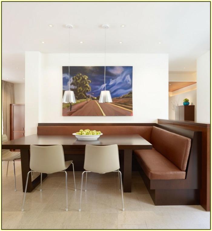 Dise o de cocinas espacio para rincones acogedores y - Bancos esquineros para cocina ...