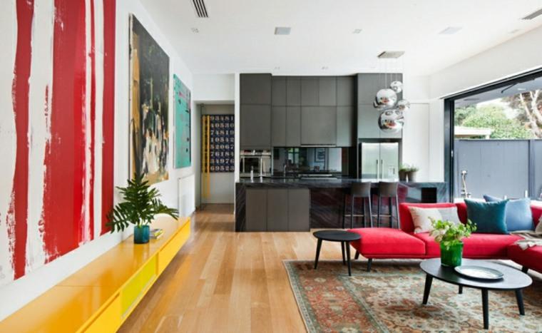 diseño de interiores modernos salon