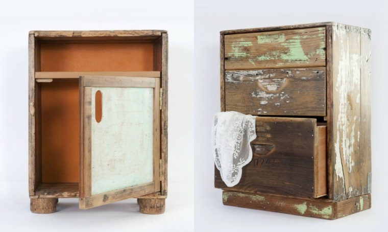Reciclar muebles decorar siendo generosos con la for Cosas con madera reciclada