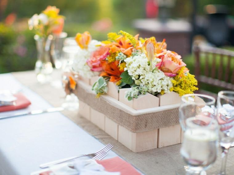 diseños centros de mesa bodas