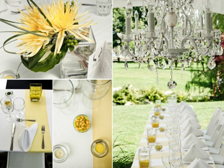 diseños decoraciones bodas verano