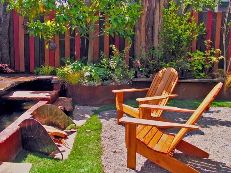 diseños originales vallas jardin