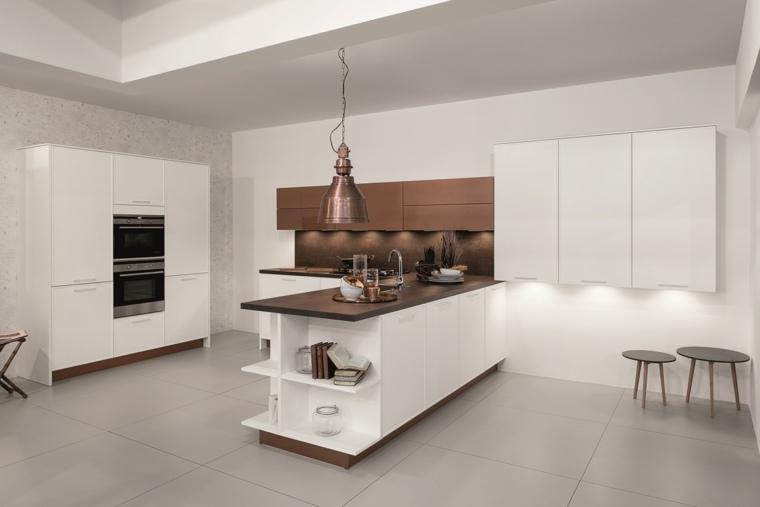 diseños cocinas modernas tendencias
