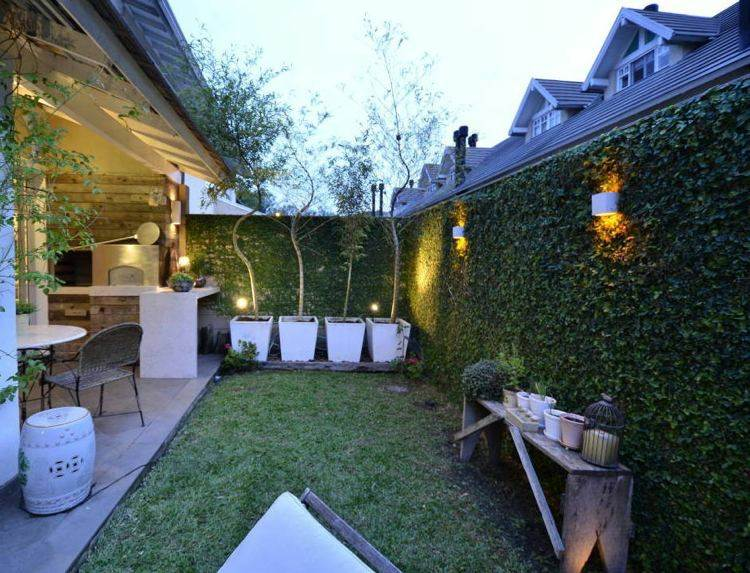 diseno decoracin luces jardin