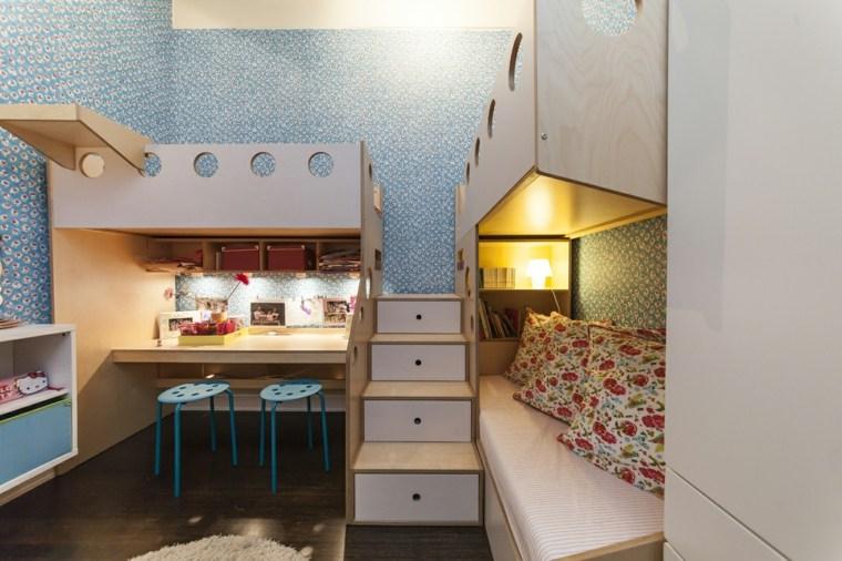 Escritorios juveniles 24 modelos funcionales y modernos - Escritorio habitacion ...
