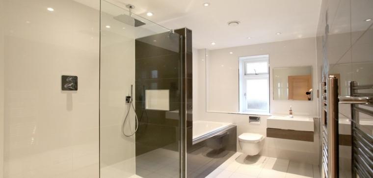 diseno baño minimalista cuarto bano
