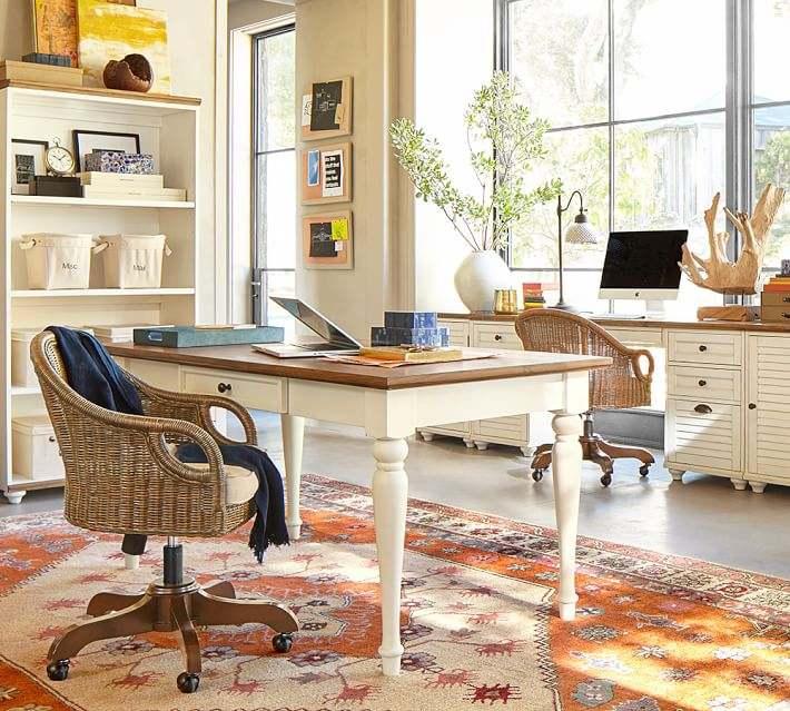 diseno persa alfombra escritorio opciones ideas